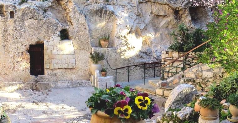 The Garden Tomb, Jerusalem. (Credit: The Garden Tomb website)